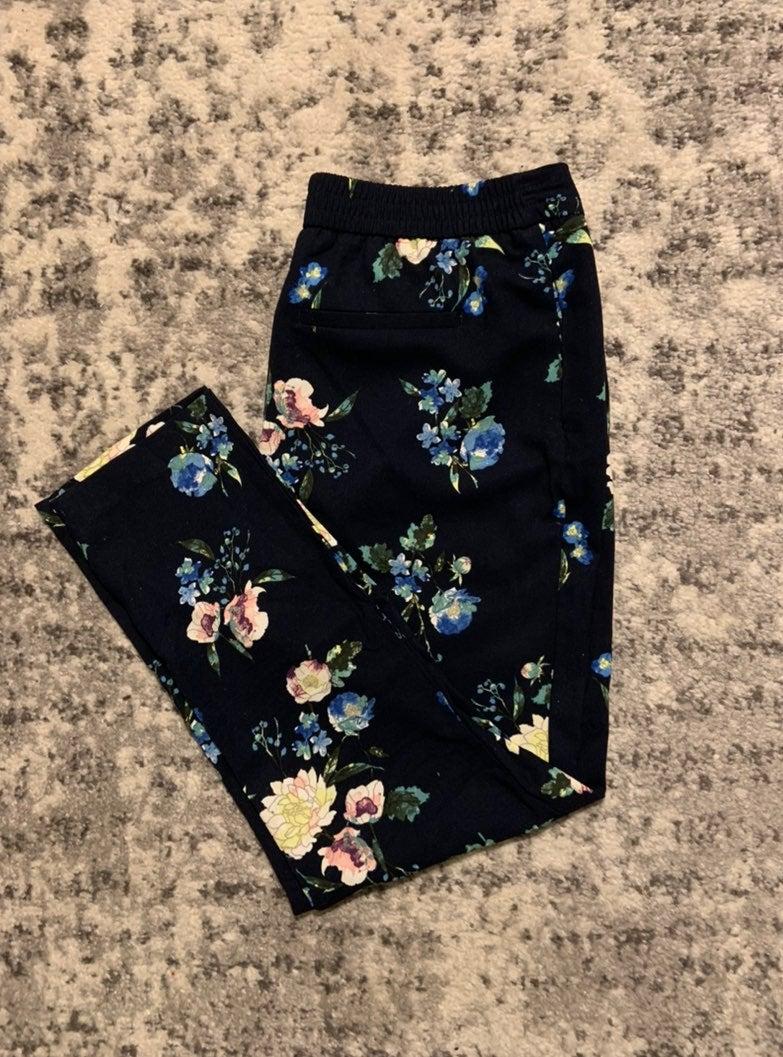 Cynthia Rowley Floral Pants
