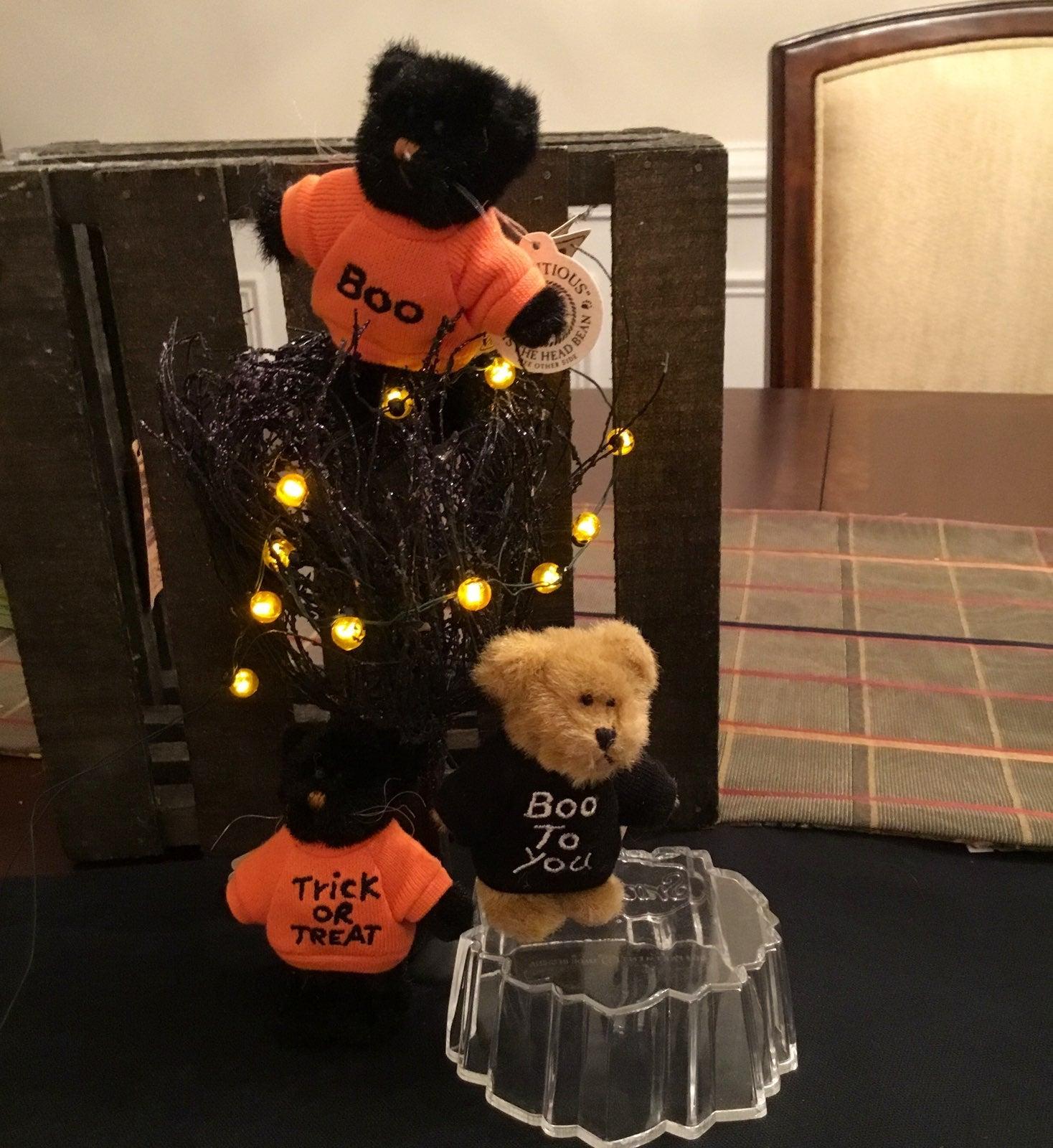 Boyds bear halloween plush