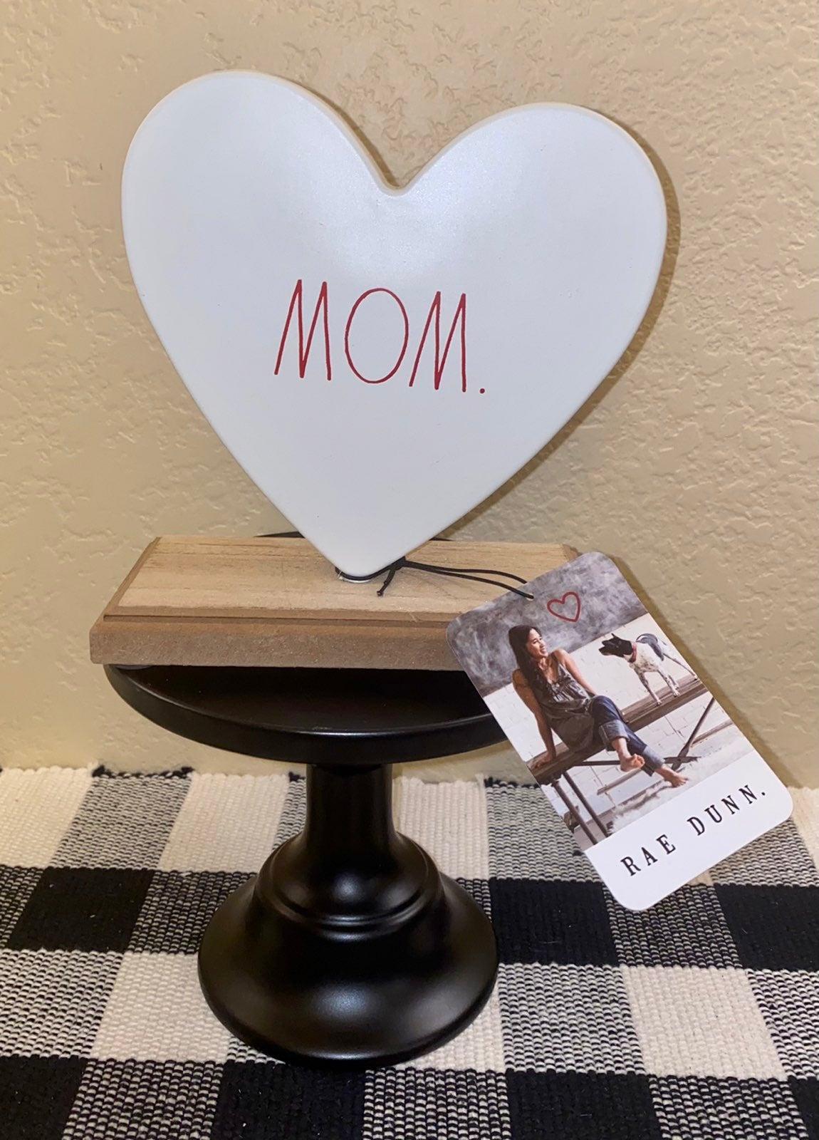 Rae Dunn Mom Heart