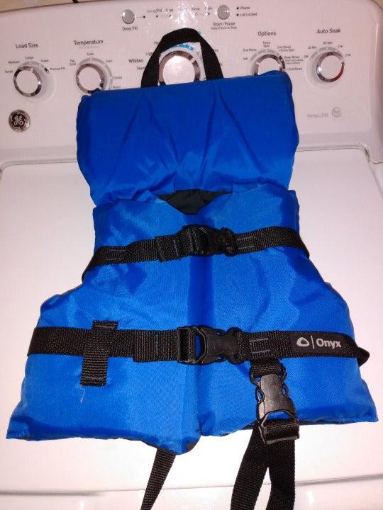 Onyx Infant / Child Boating Vest Blue