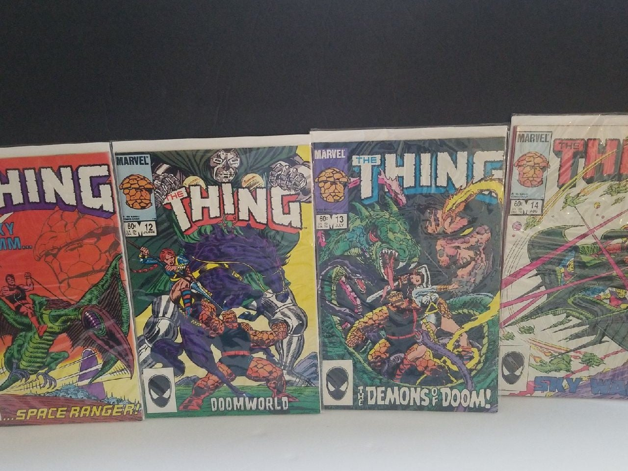 The Thing lot 11-14 Bronze Age NM
