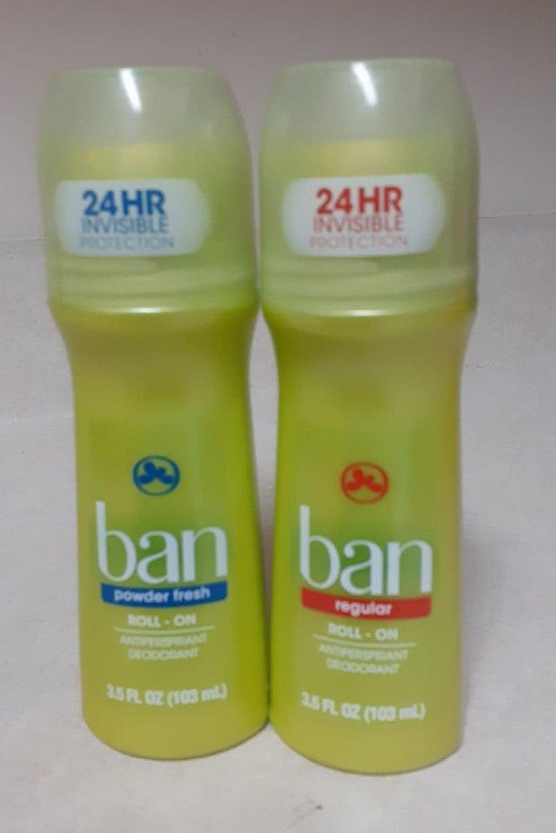 Ban Roll on Deodorant