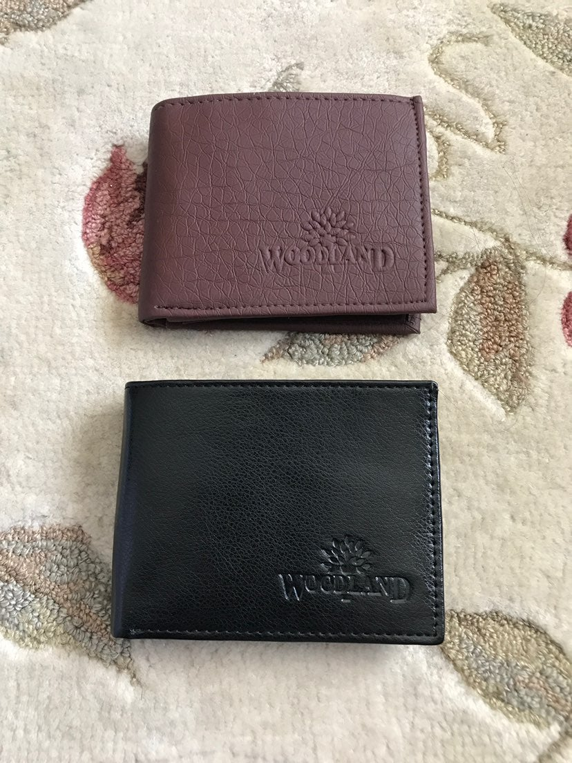 Bundle of 2 WoodLand Leather Wallets