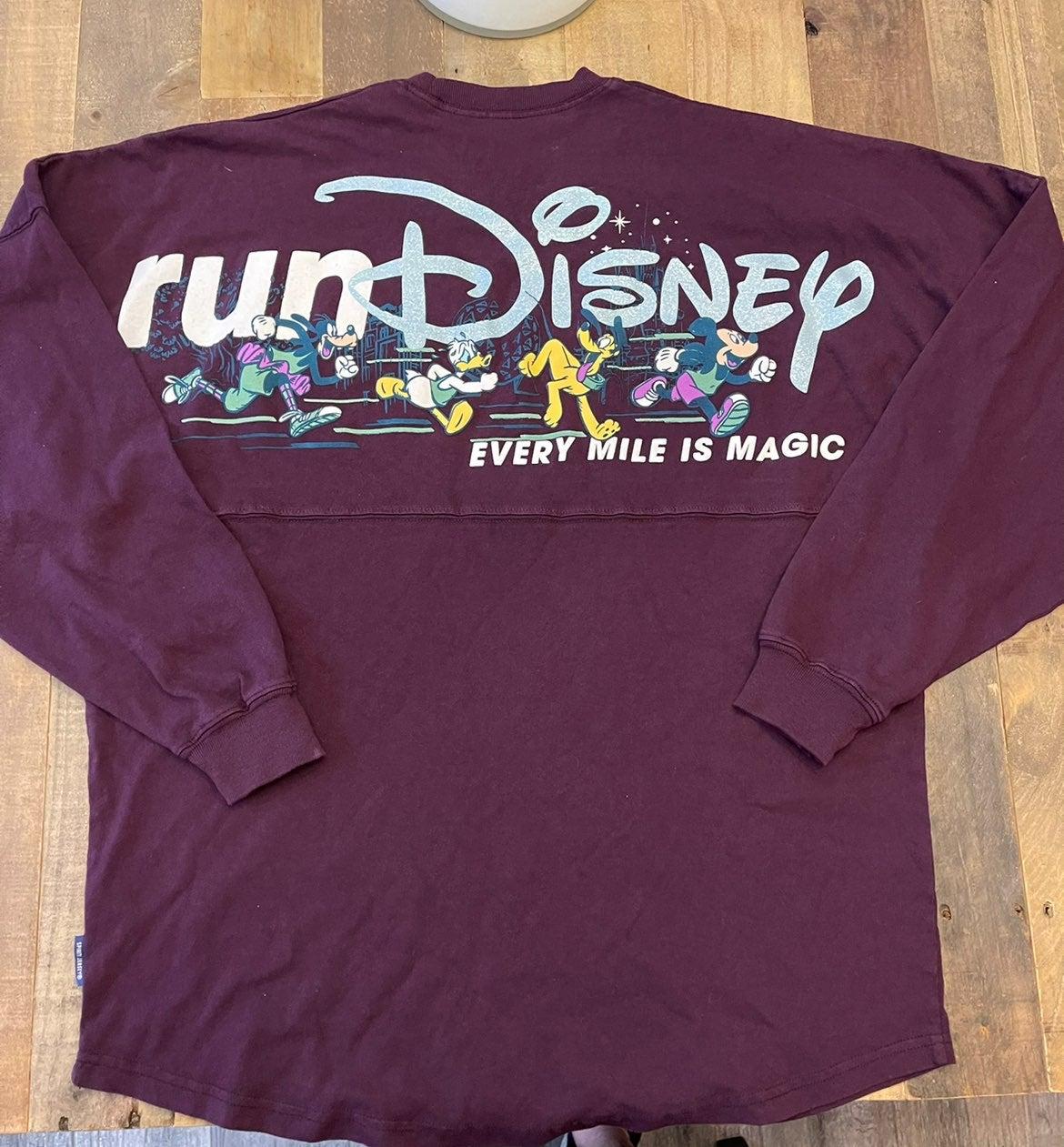 2019 Walt Disney World Marathon Run Disney Spirit Jersey Tee XS S L XL NWT