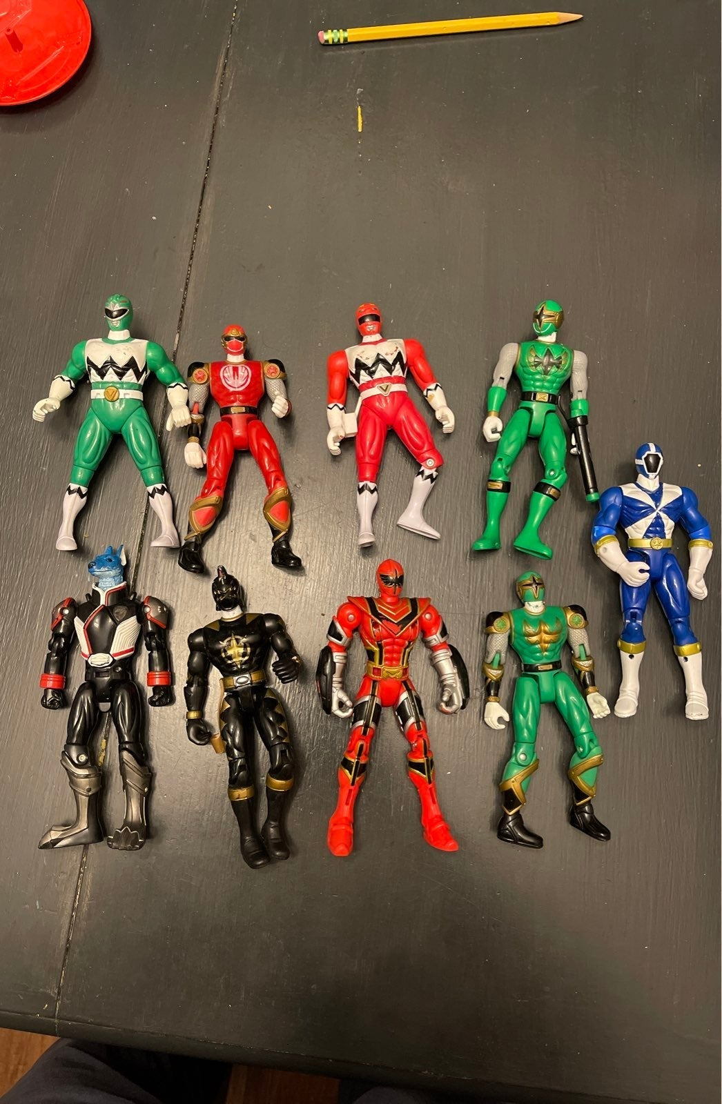 Lot of Power Rangers