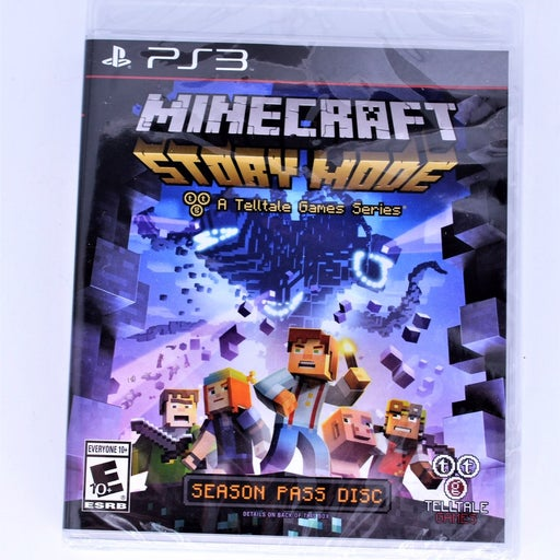 PS3 Minecraft Story Mode Brand New!