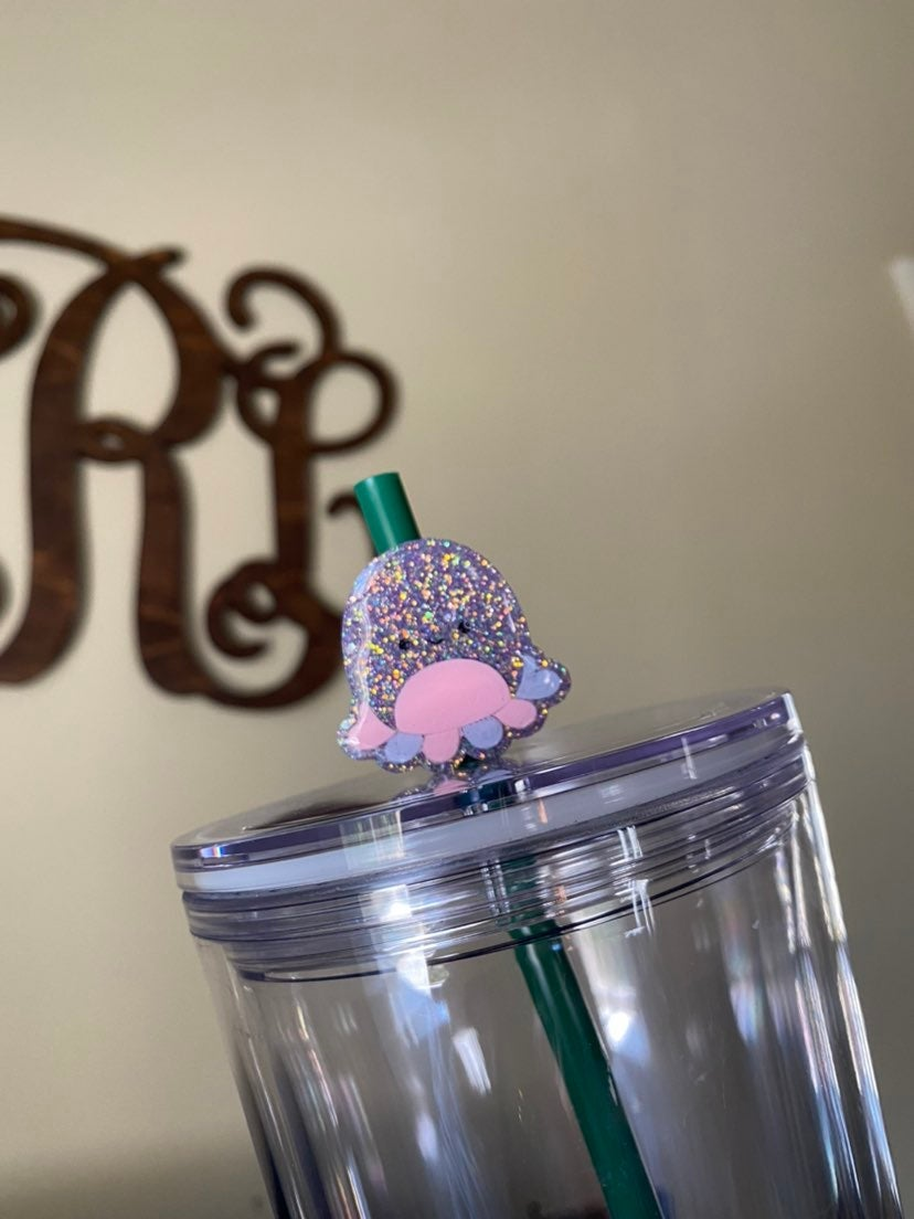 squishmallow octopus straw topper