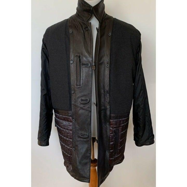 ANDREW MARC New York Men's Leather coat
