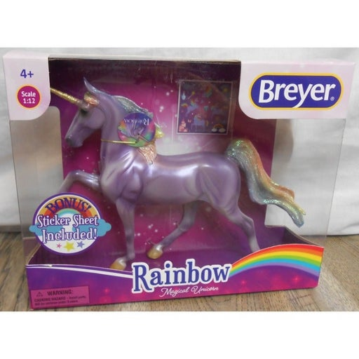 Breyer Rainbow Magical Unicorn Horse