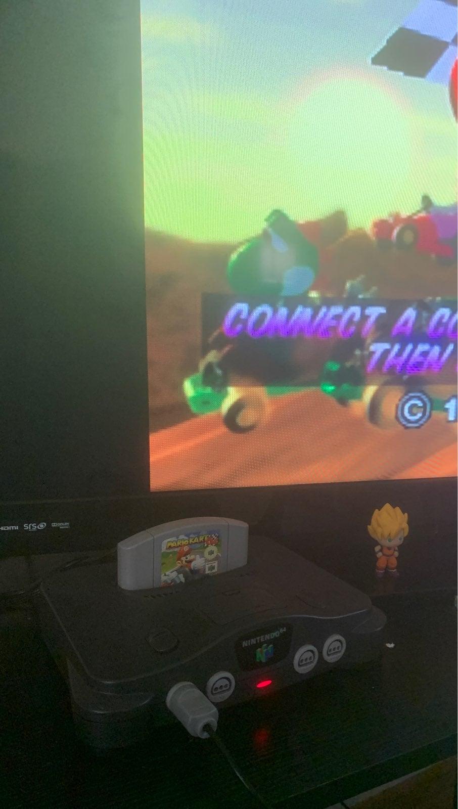 Nintendo 64 and Mario Kart