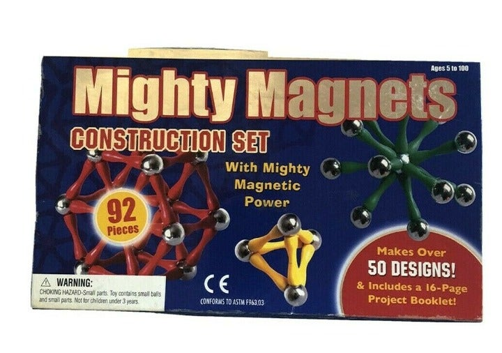 Might Magnets 92 piece Construction Toy