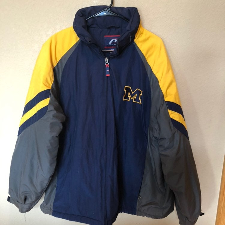 Vintage Michigan Lined Jacket By PP