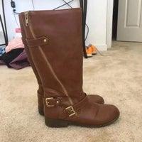 2e3a0cb12f6 Steve Madden Size 5 Cognac Tall Boots