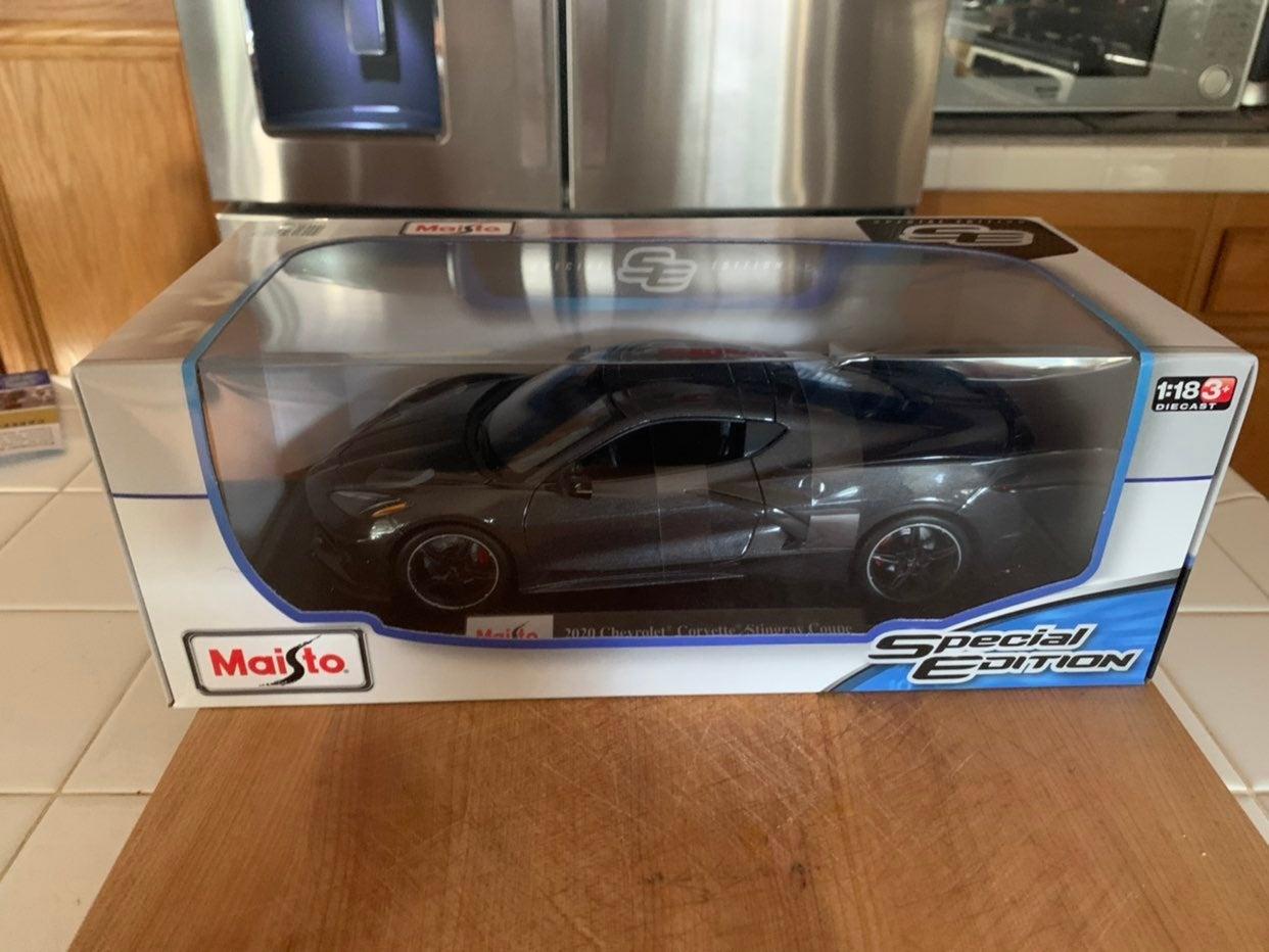 1:18 2020 Chevrolet Corvette special