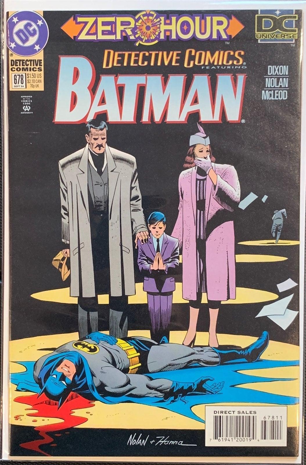 BATMAN Det.Comics #678 New Logo