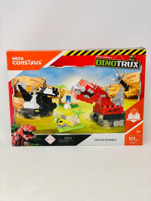 Mega Construx Dinotrux CRATER RUMBLE Set