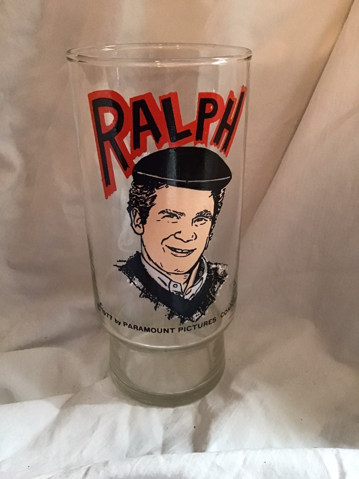 Happy Days Ralph Mouse Glass 1973