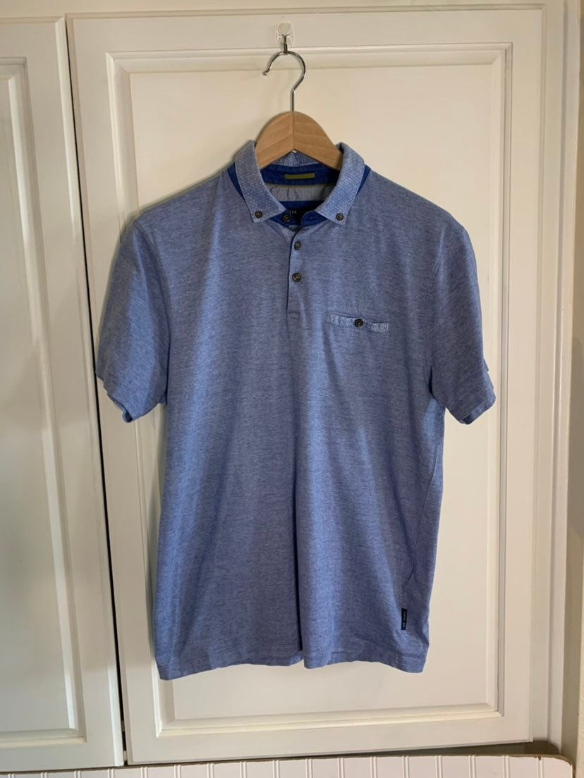 Ted Baker Men's Shirt Ted Size 4/L