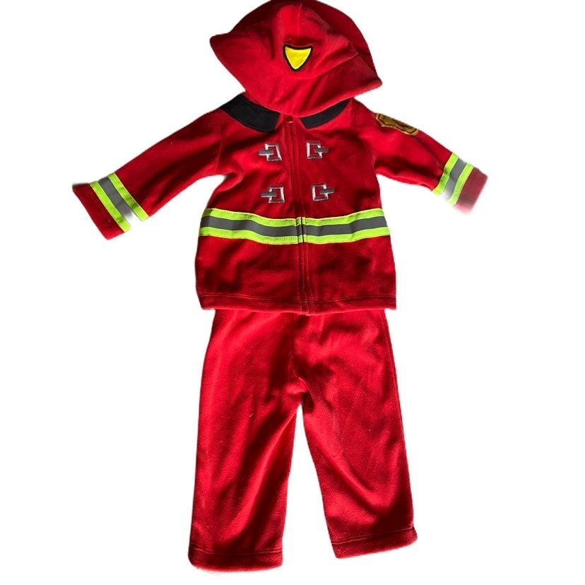 Firefighter costume for baby - 3-6 mths