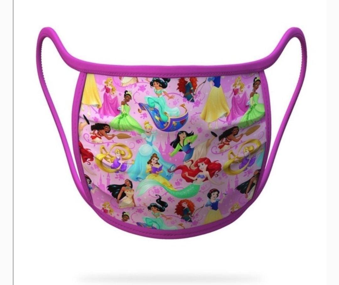 Disney Princess Cloth Face Mask NEW