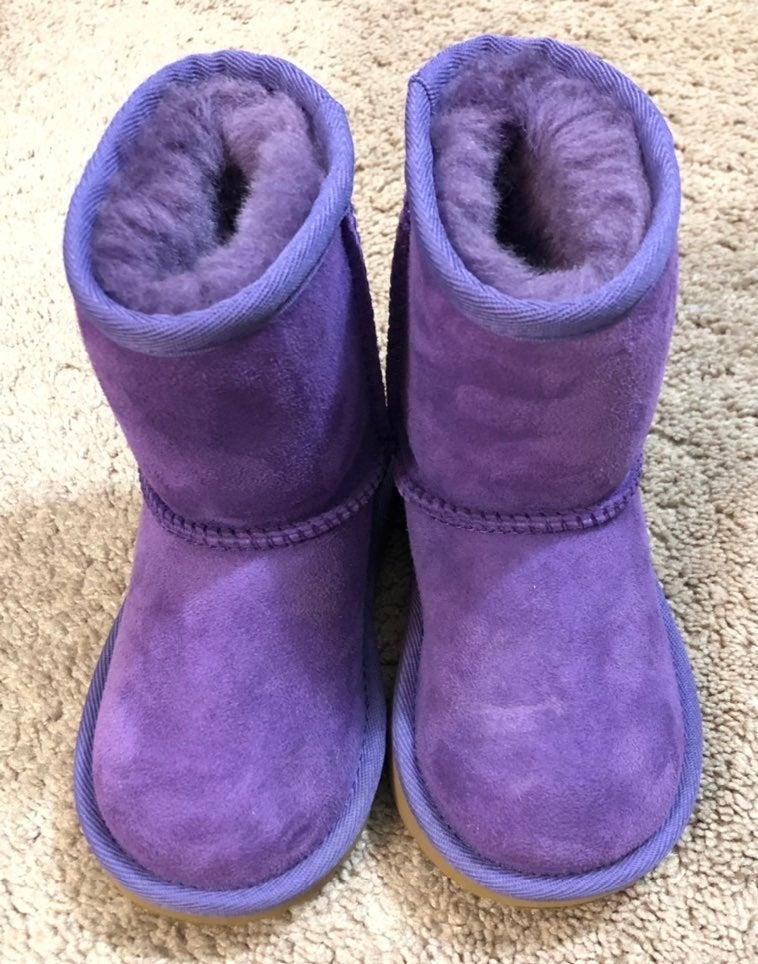 UGG Girl Purple Boots