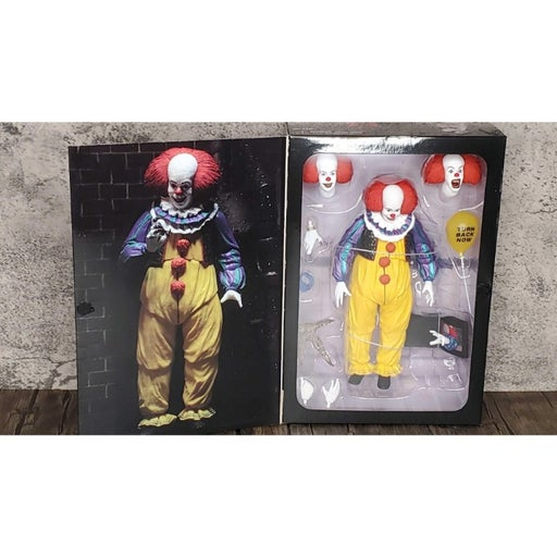 NECA Ultimate Pennywise 1990 It the Movie Action Figure NEW in Box