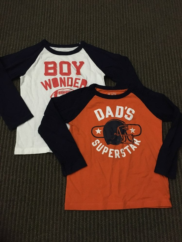 The Children's 4T long sleeve shirts
