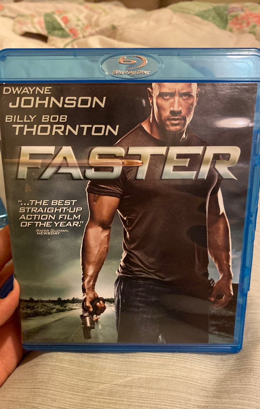 Faster blu-ray movie