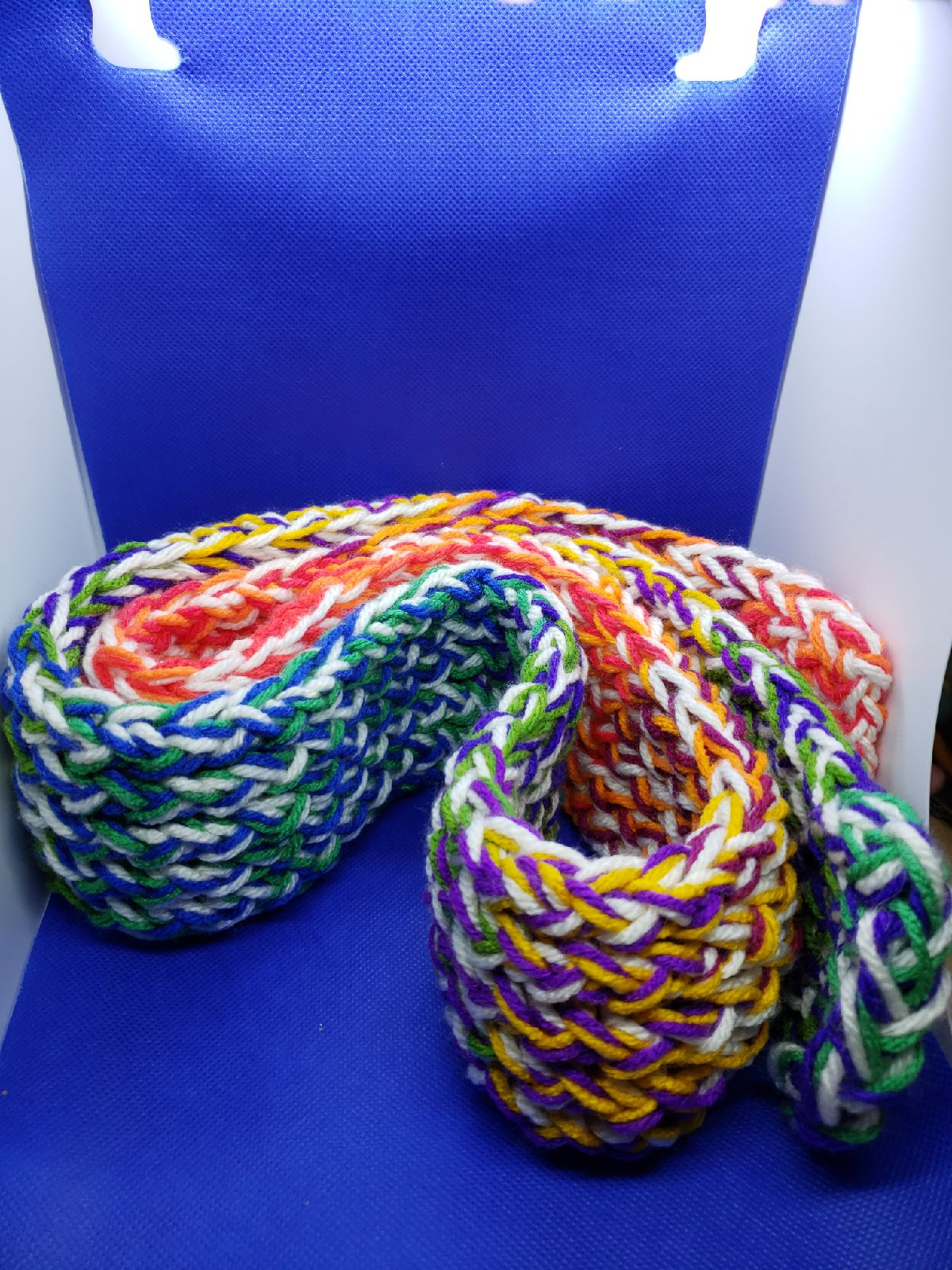 Hand Knitted Kids Scarf