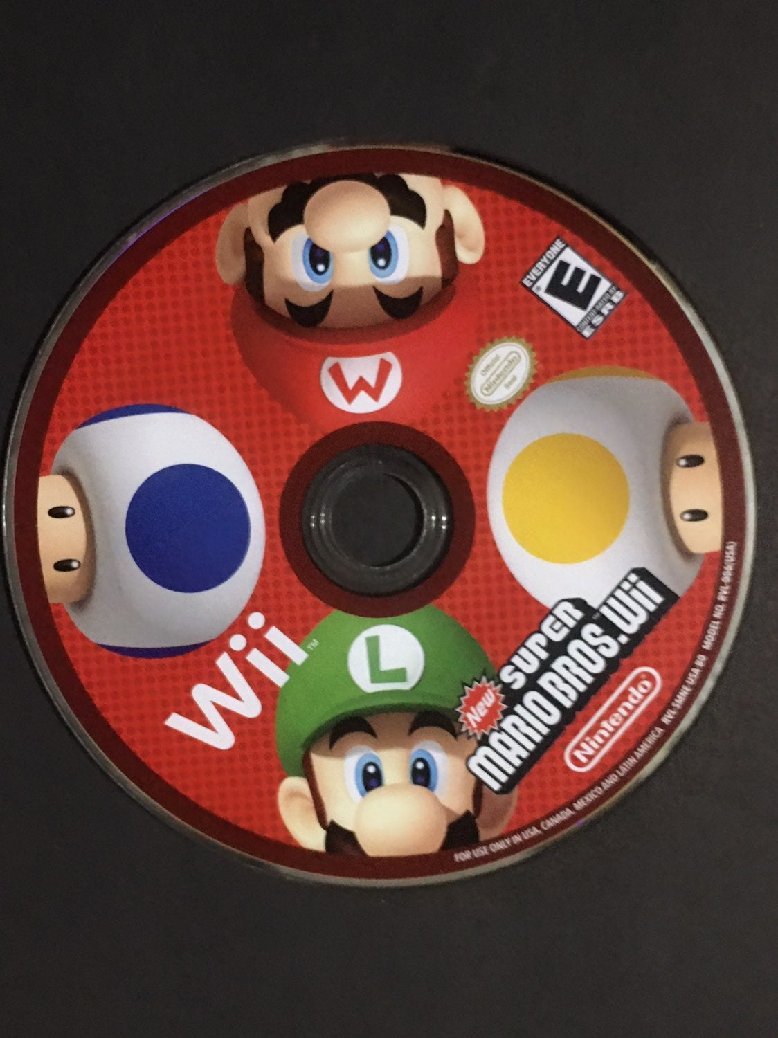 SUPER MARIO BROS. Game Disc!
