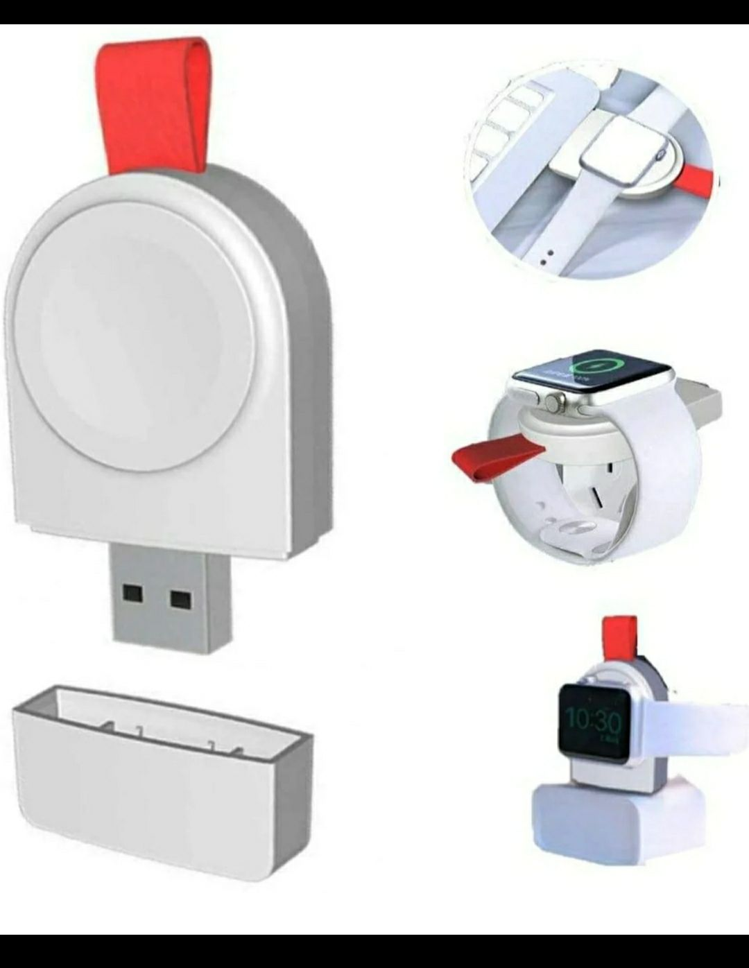 USB Apple Watch Charger Portable Magnet