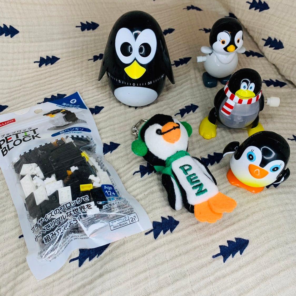 (6) Penguin Toy Lot Bundle Collectibles