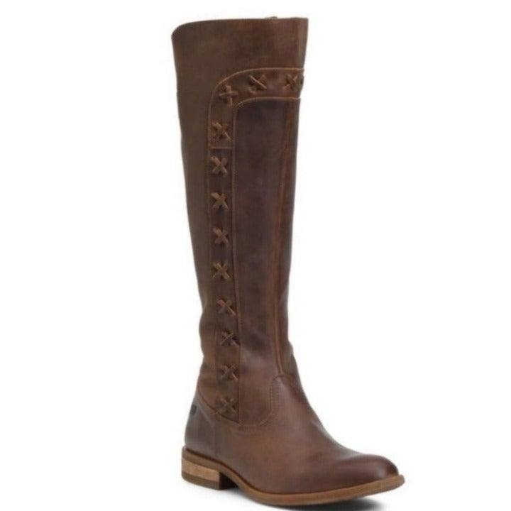 Born albi tall women brown boots