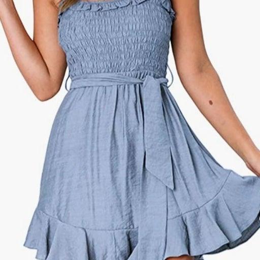 Nwot XL baby blue summer dress