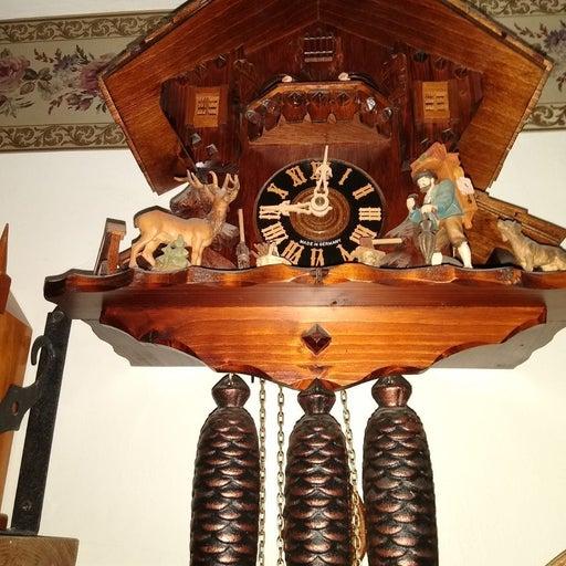 8 Day Musical Cuckoo Clock