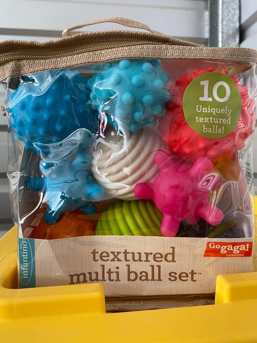 Infantino Go Gaga Textured Multi Ball 10