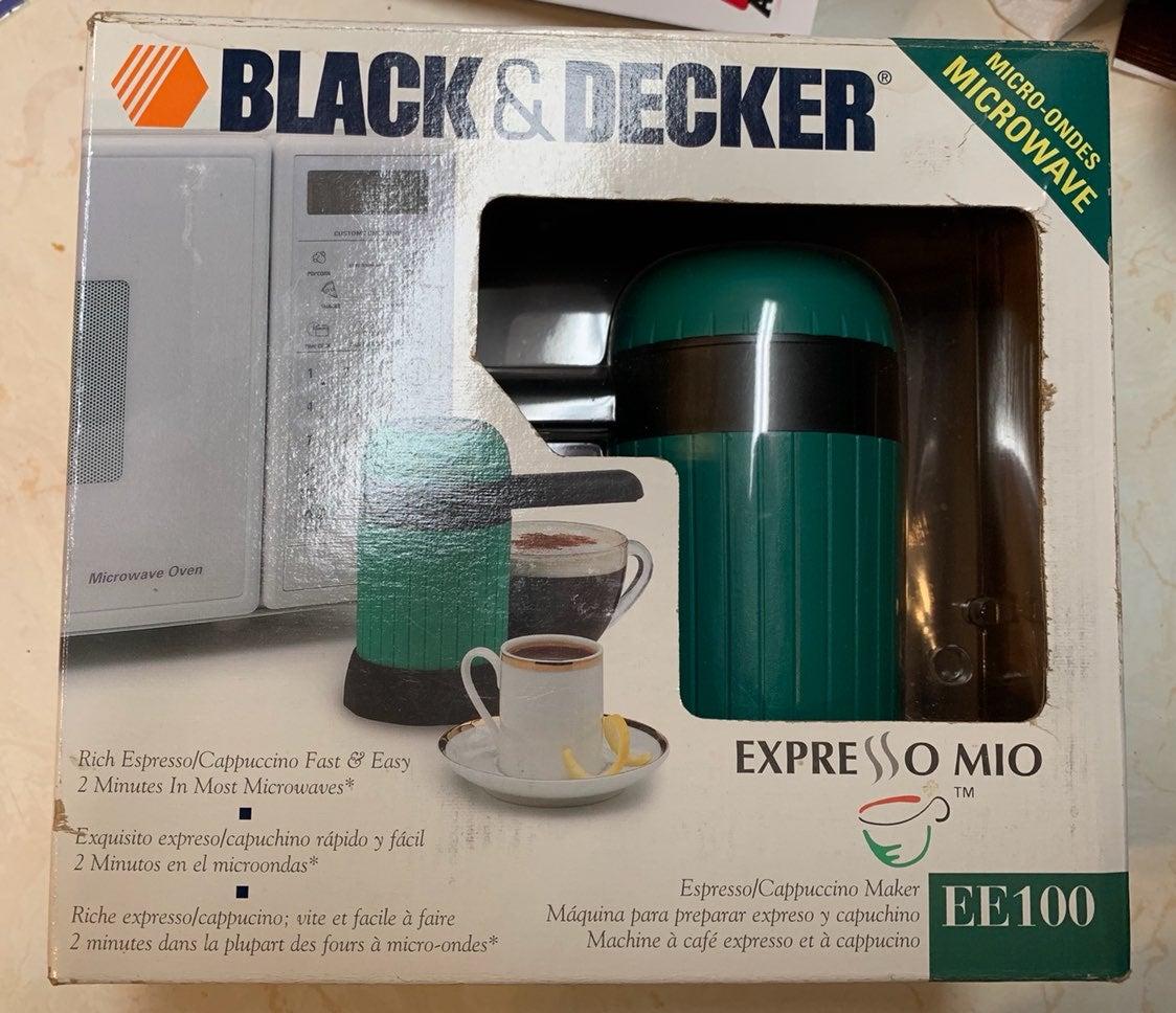 NIB Black & Decker Micro. Espresso Mio