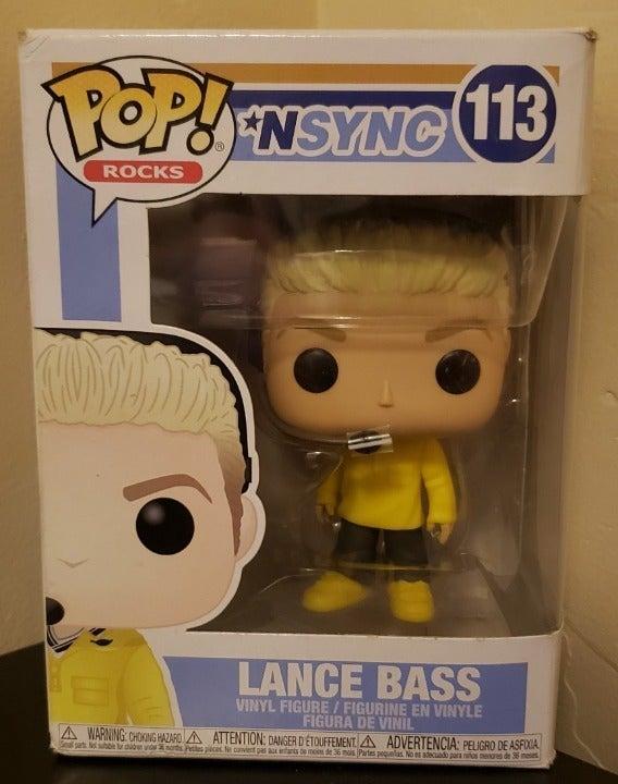 Lance Bass 113 NSYNC Funko Pop