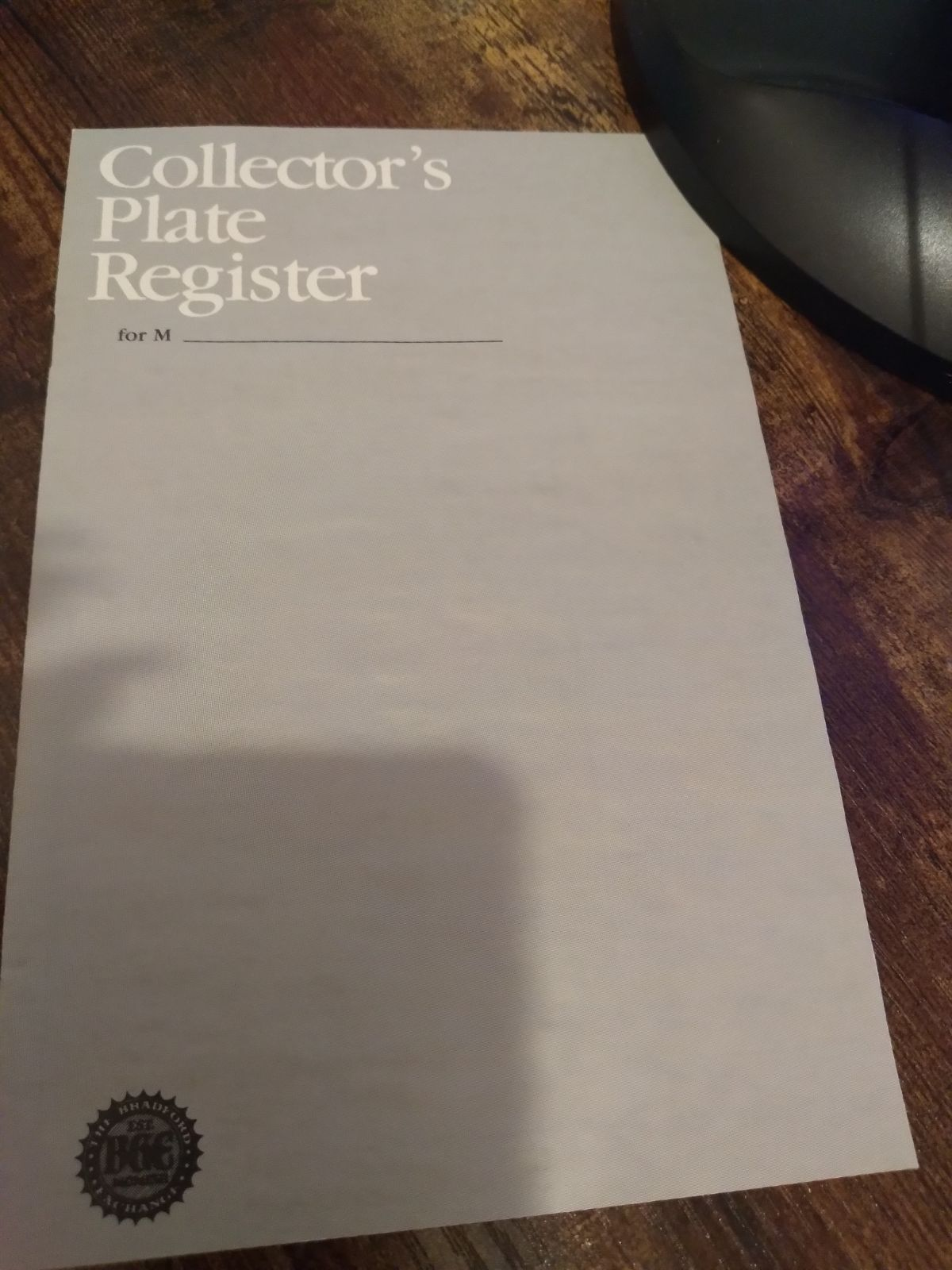 Vintage Collection Plates from the Bradf