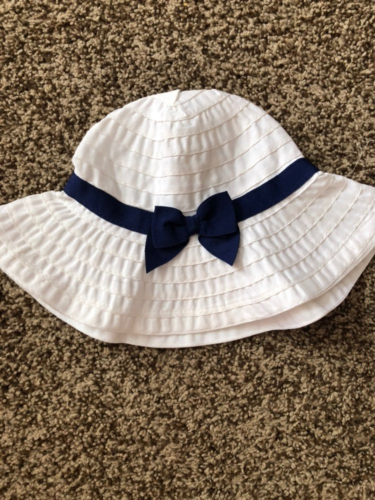 Infant girl sun hat