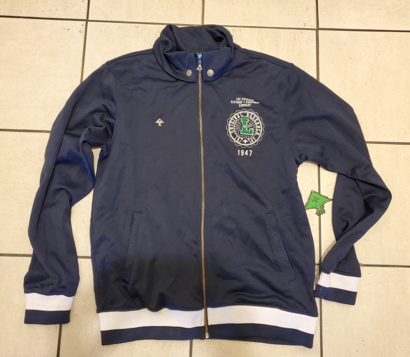 LRG Men's Track Jacket Size Large
