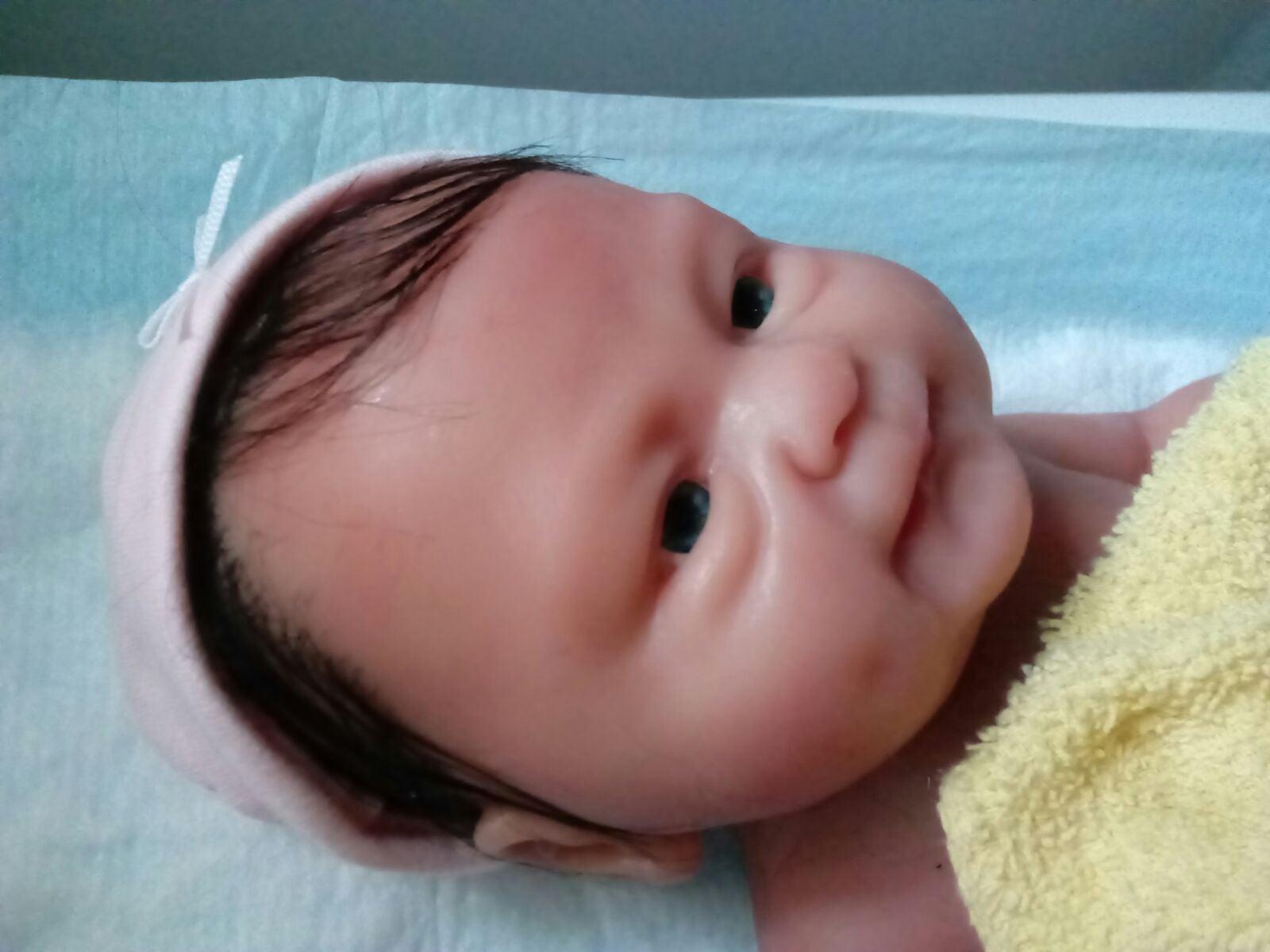 14 inch full body silicone baby girl
