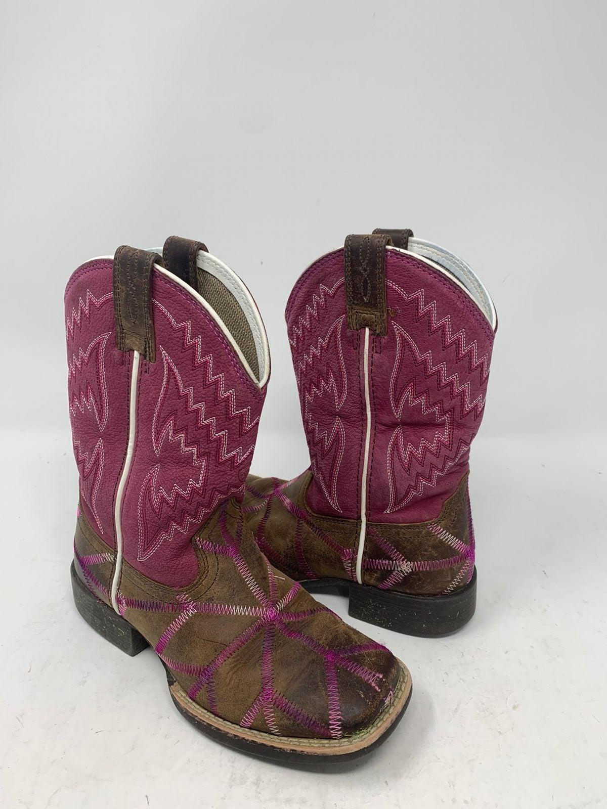 Girls Ariat Cowboy Boots Size 11