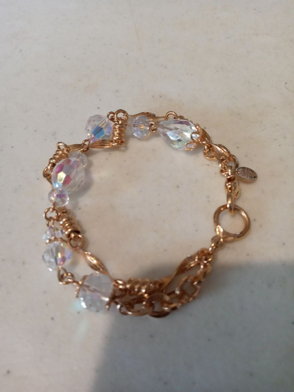 """Bracelet Kirks folly crystal 7"""""""