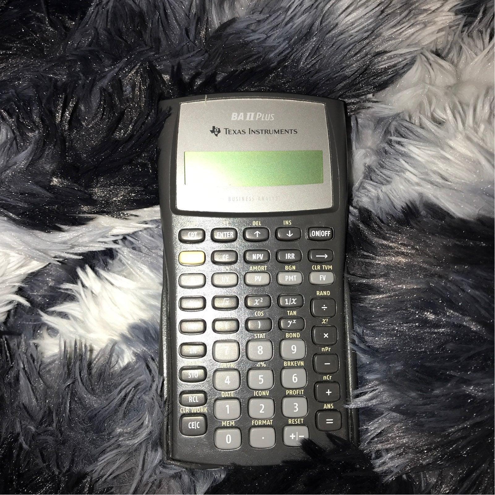 BA II Plus Calculator