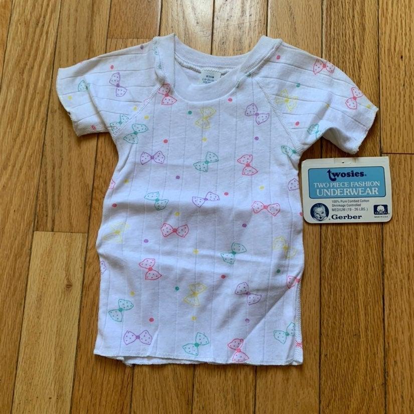 Vintage babys gerber tshirt 12-18 months