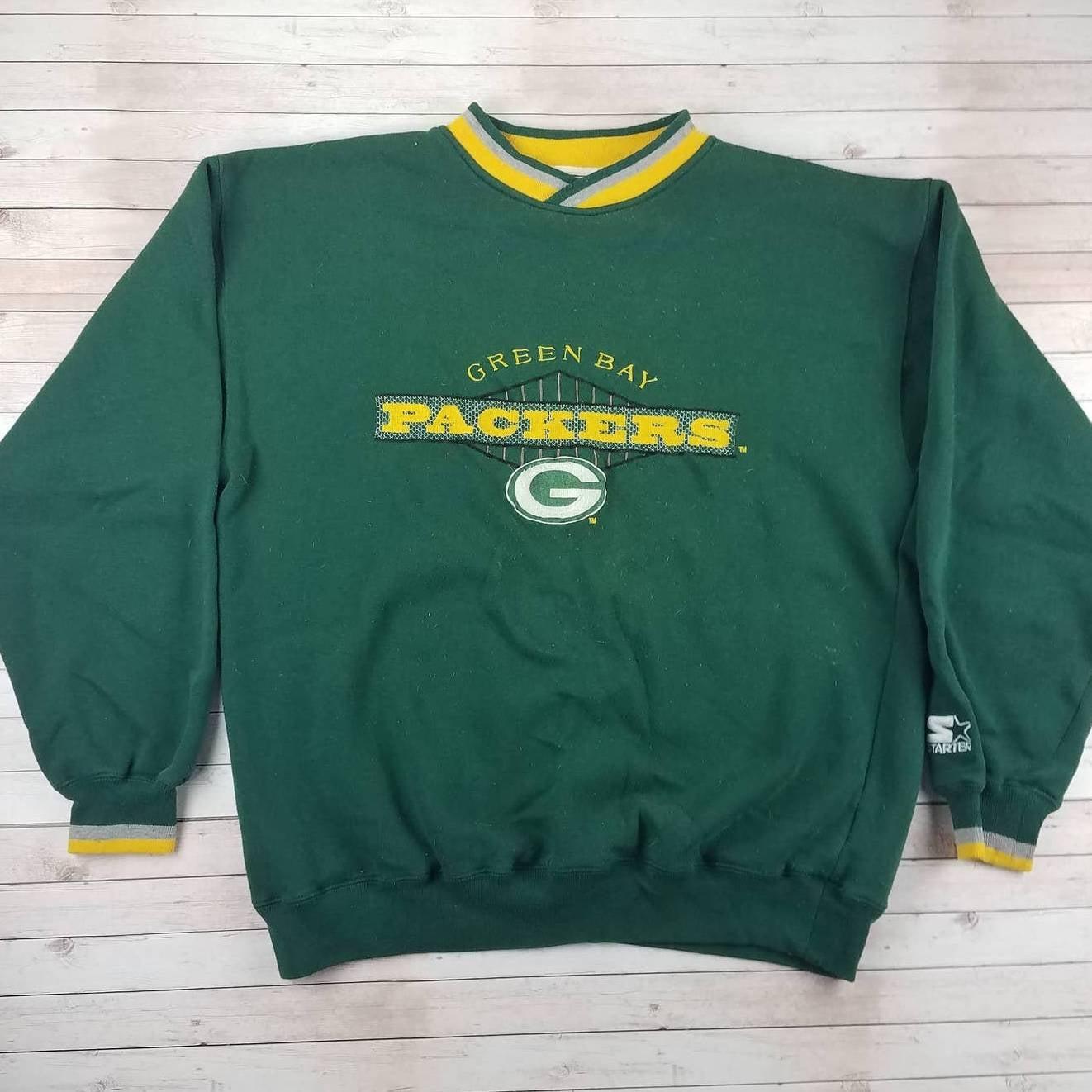 VTG 90s GB Packers Starter Sweatshirt
