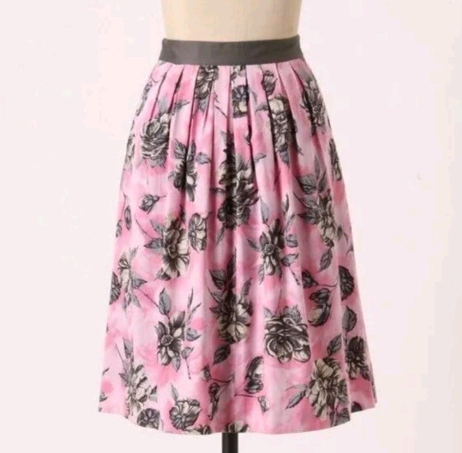 Anthro Odille Splendid Celebration Skirt
