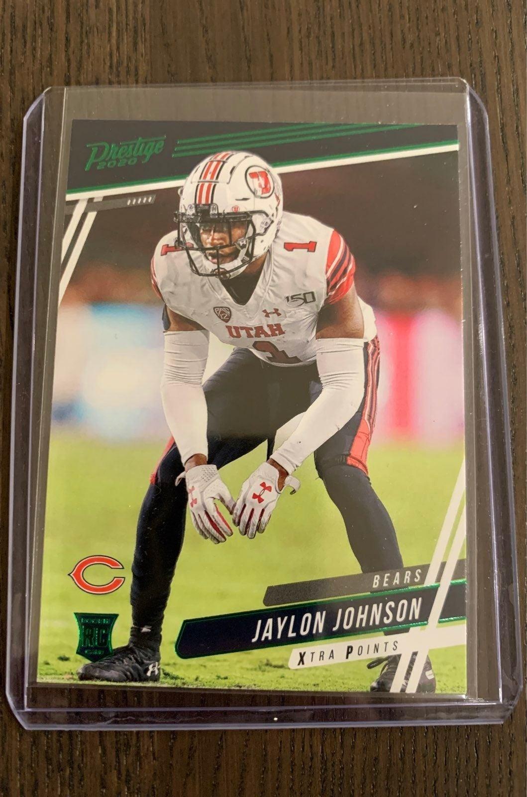 Jaylon Johnson Prestige Rookie Card