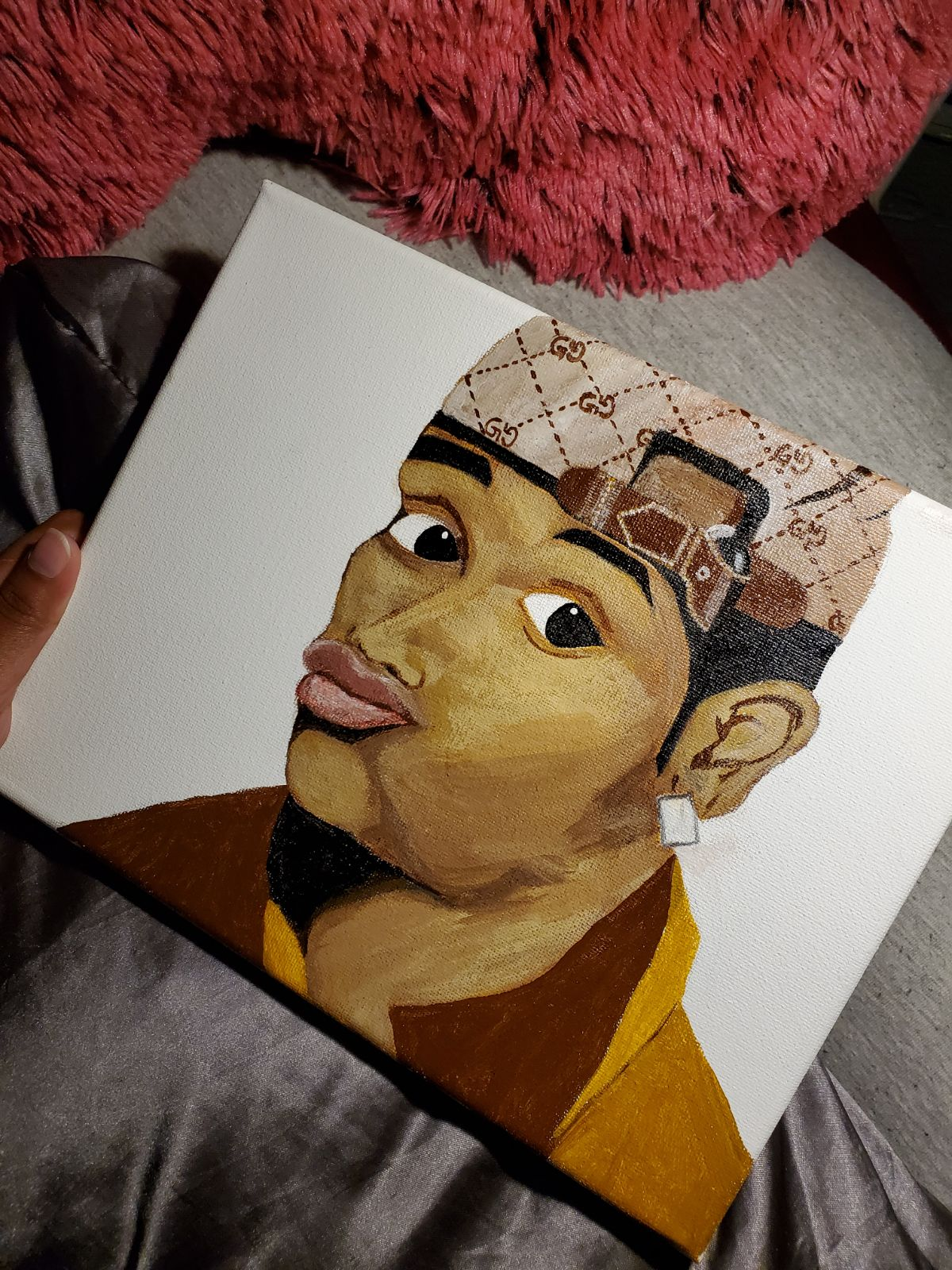 Meme painting,  canvas painting